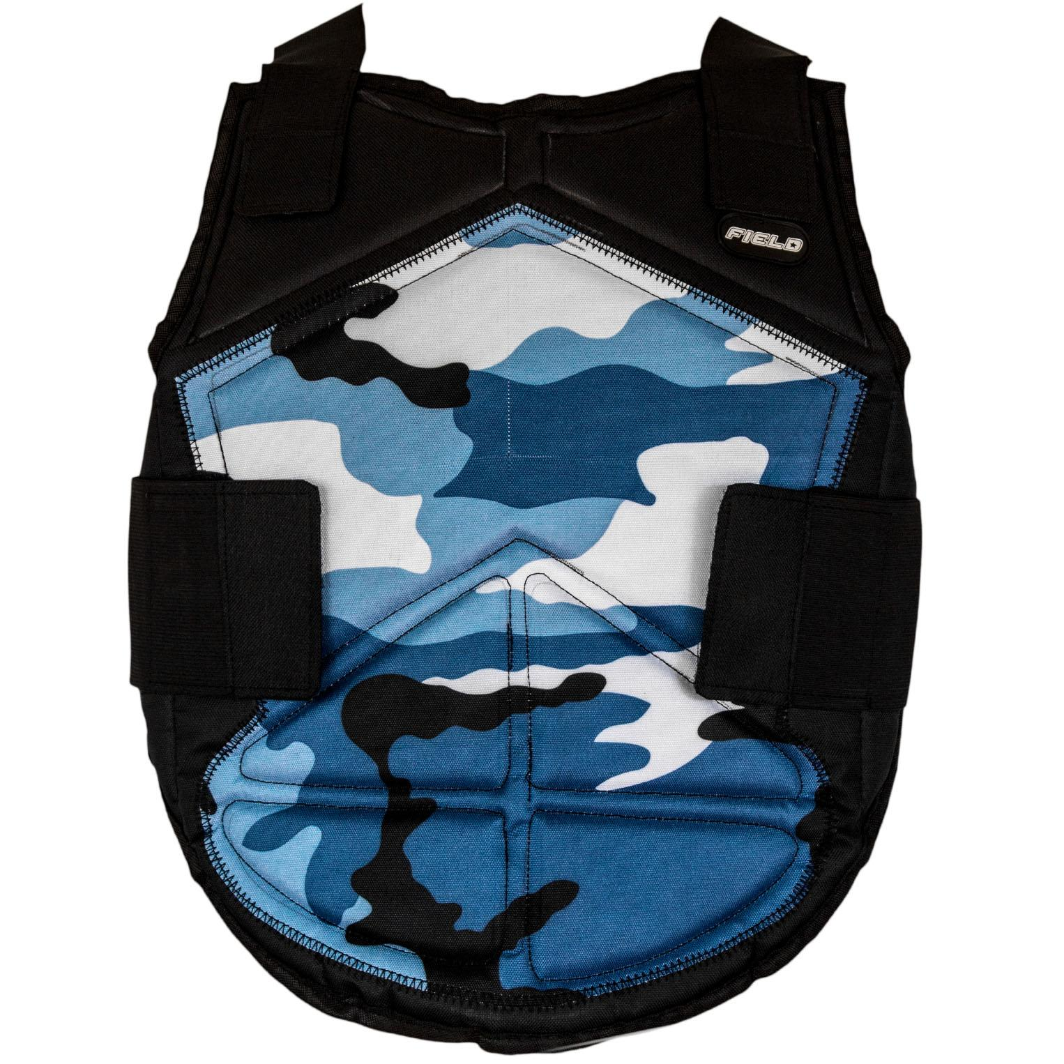 Chest Protector Field Blue Camo - Kid