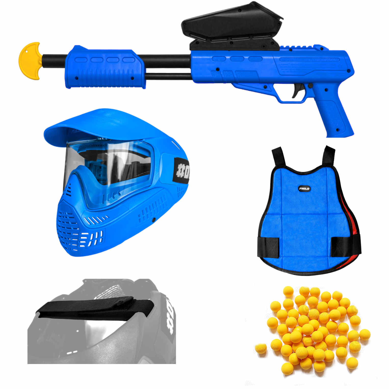 Blaster Attack Pack Blue