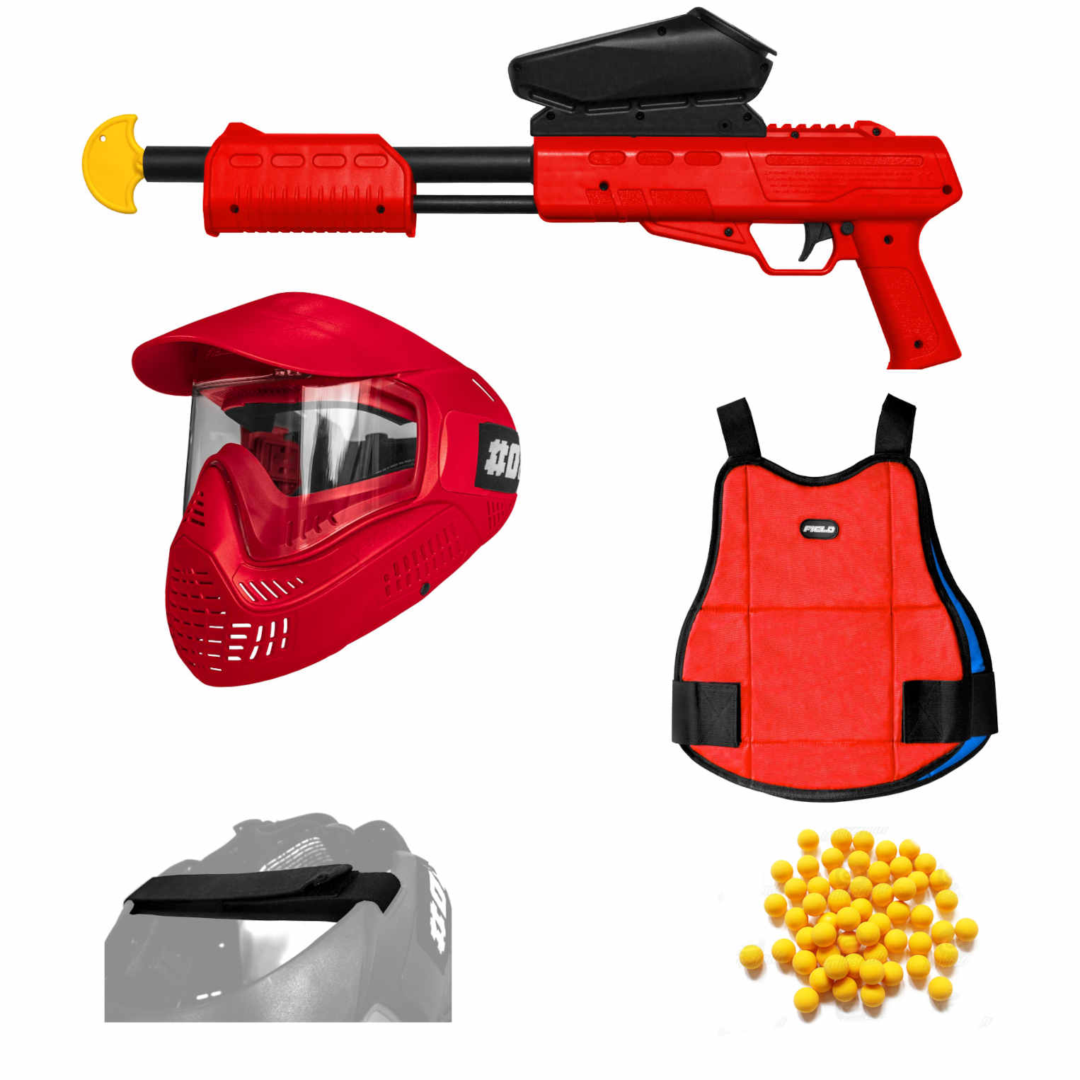 Blaster Attack Pack Red
