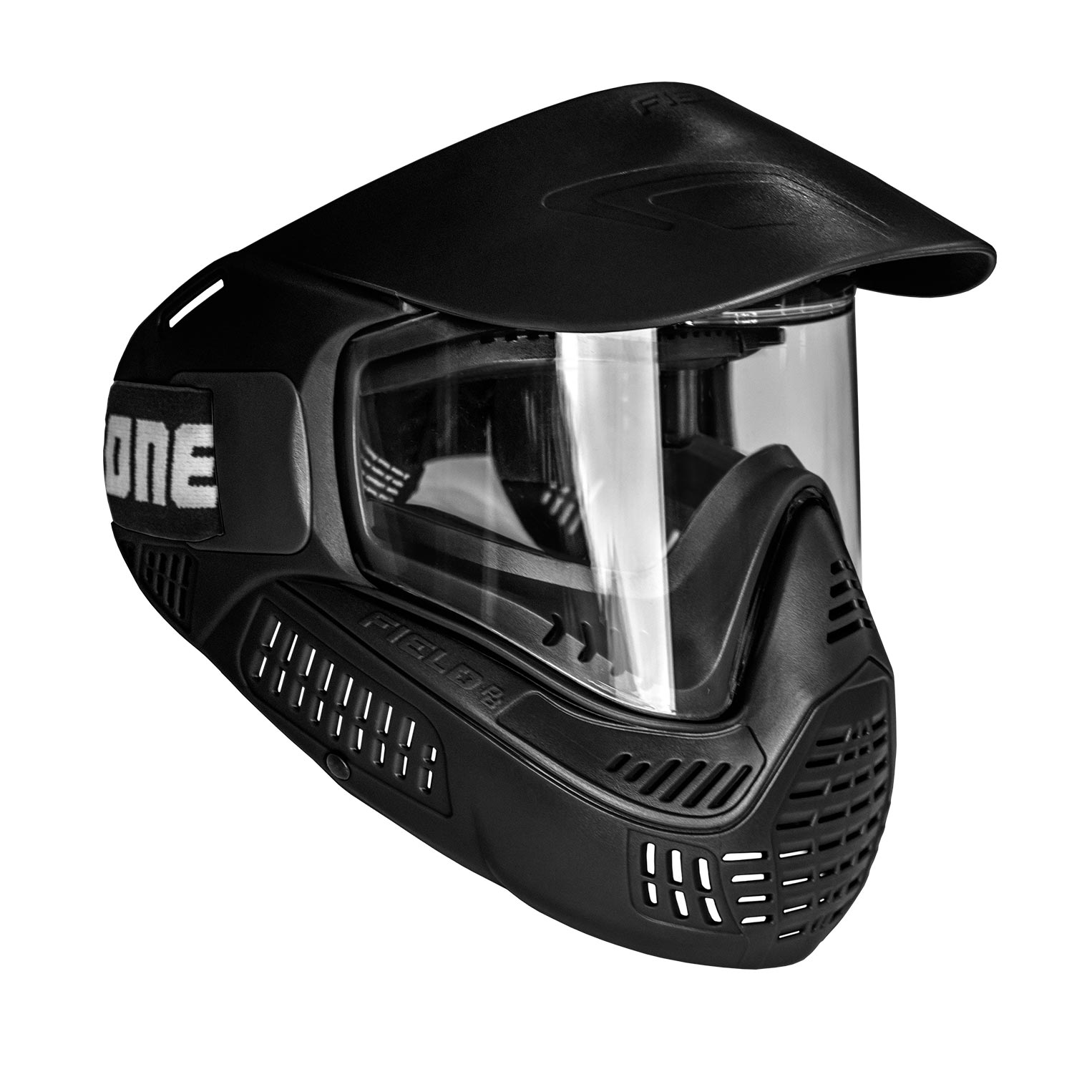 Goggle #ONE Thermal Black - Rubber Foam