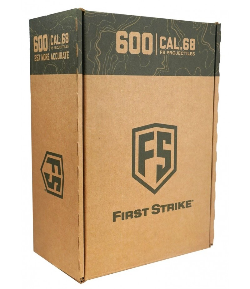 First Strike Paintballs 600 Rounds Box